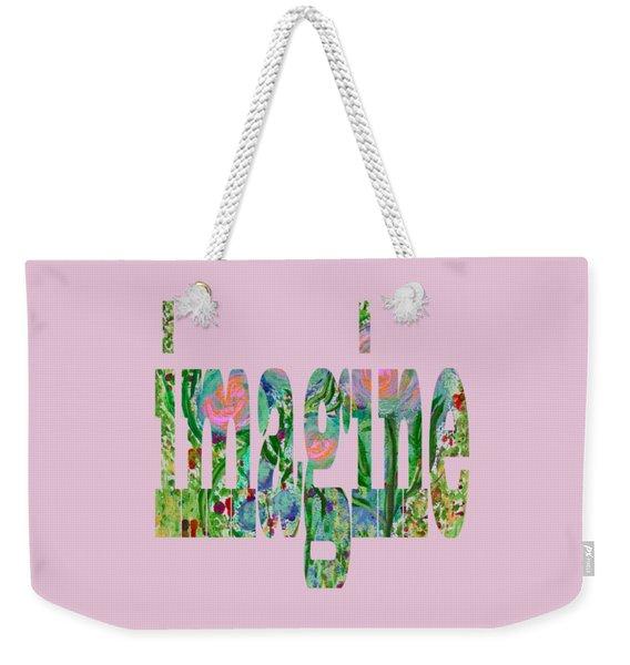Imagine 1011 Weekender Tote Bag