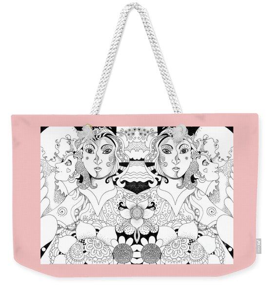 Imagine 3 Weekender Tote Bag