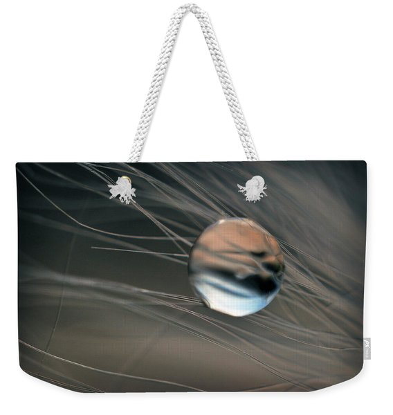 Weekender Tote Bag featuring the photograph Imagine by Michelle Wermuth