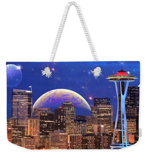Imagine The Night Weekender Tote Bag