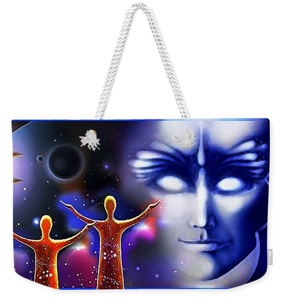 Imagine - What Is Out  There Weekender Tote Bag