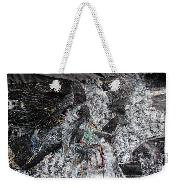 Immersed And Flawed By Cash Flow Weekender Tote Bag