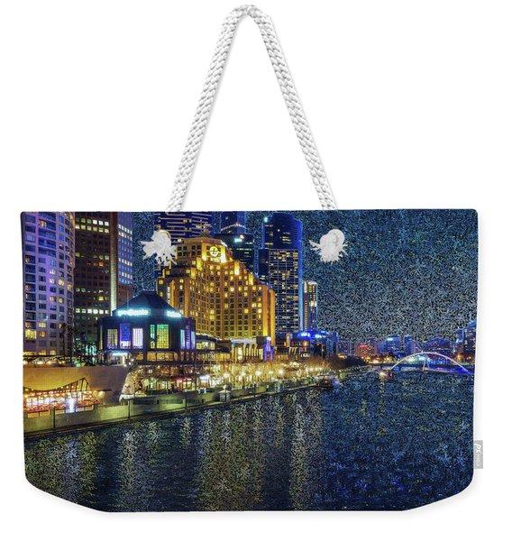 Impression Of Melbourne Weekender Tote Bag