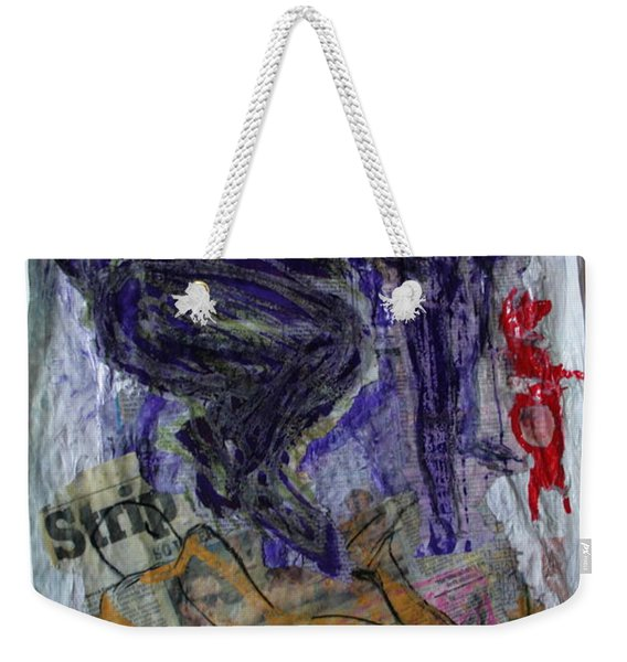 In A Vice Like Grip Of Hate Weekender Tote Bag