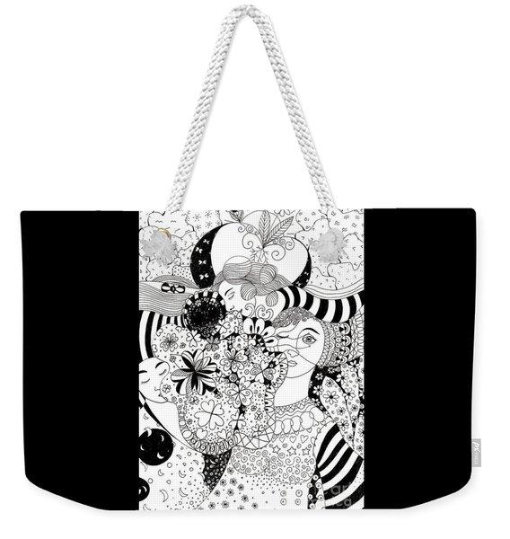 In Light And Dark Weekender Tote Bag