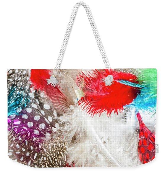 In Quill Colors Weekender Tote Bag