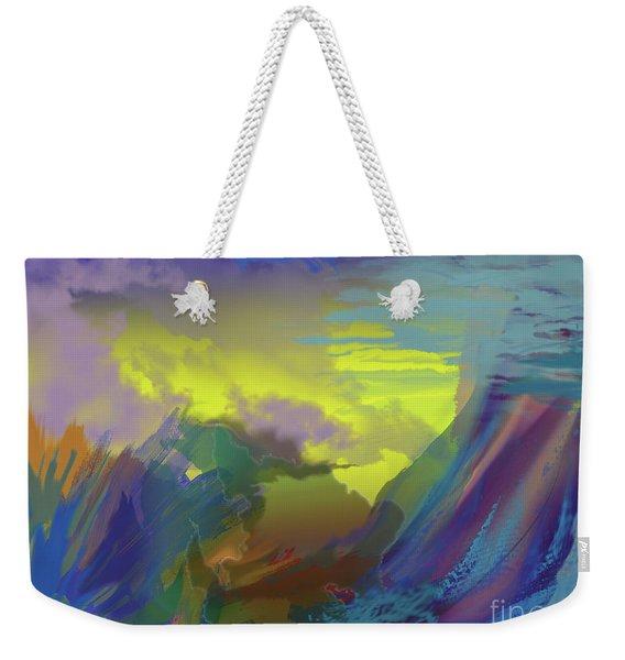 In The Beginning Weekender Tote Bag