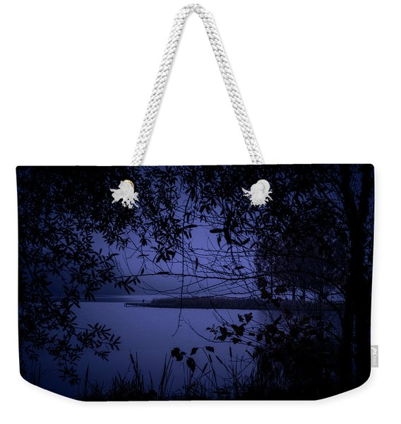 In The Darkness Weekender Tote Bag