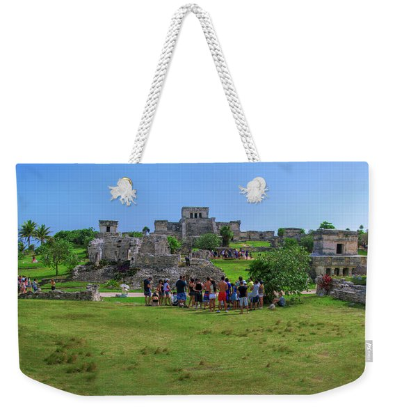 In The Footsteps Of The Maya Weekender Tote Bag