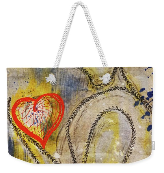 In The Golden Age Of Love And Lies Weekender Tote Bag
