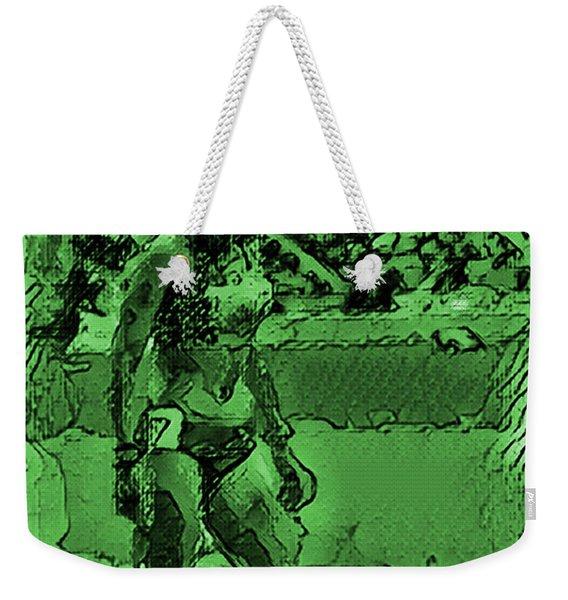 In The Green Zone Weekender Tote Bag