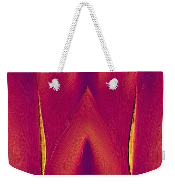 In The Heat Of Passion Weekender Tote Bag