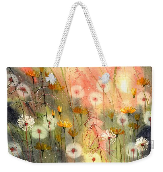 In The Morning Haze Weekender Tote Bag