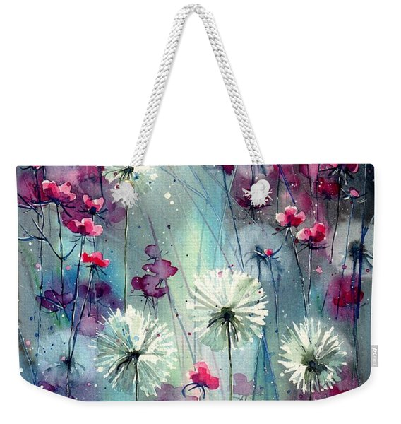 In The Night Garden - Pink Buds  Weekender Tote Bag