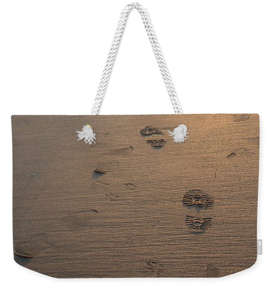 In The Sand Weekender Tote Bag