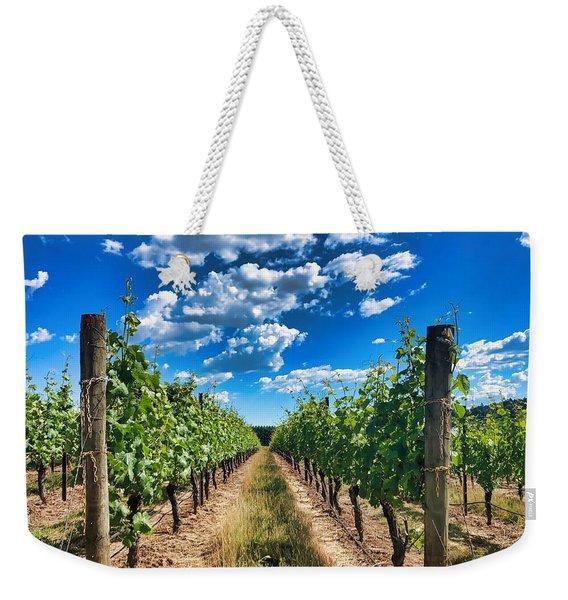In The Vineyard Weekender Tote Bag