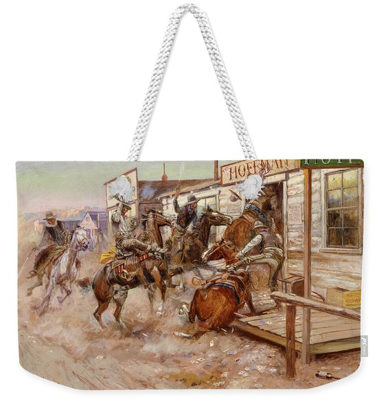 In Without Knocking, 1909 Weekender Tote Bag
