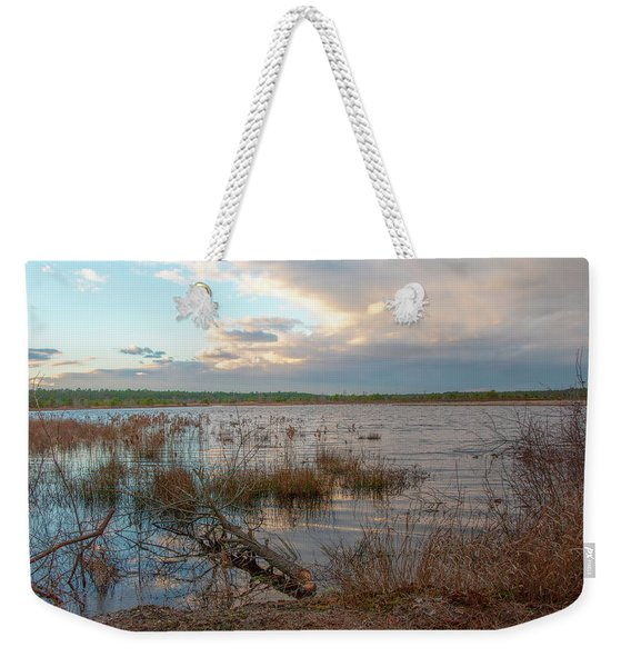 Incoming In The New Jersey Pine Barrens Weekender Tote Bag