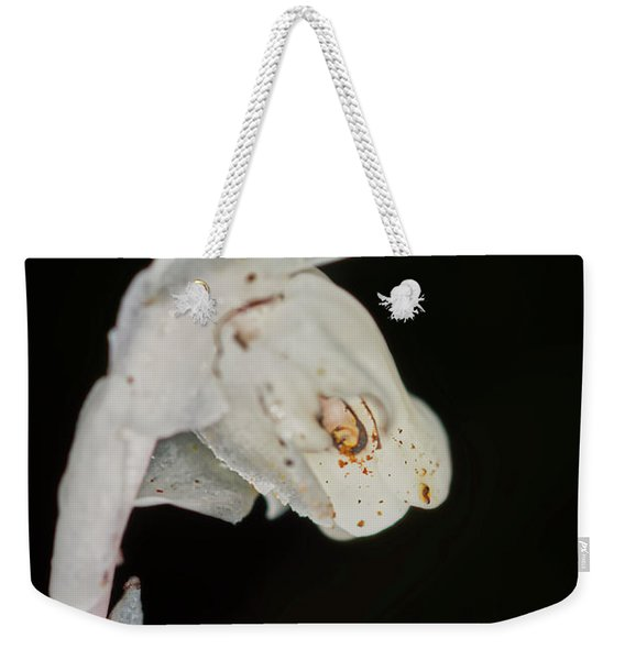 Indian Pipe Rabbit Head Weekender Tote Bag