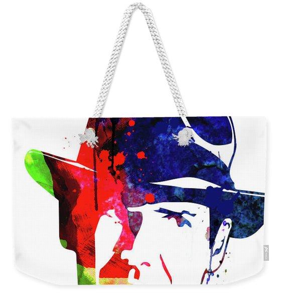 Indiana Jones Watercolor Weekender Tote Bag