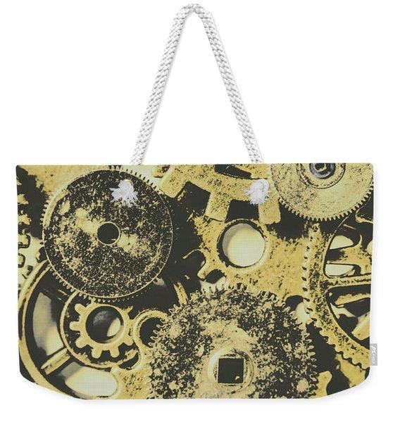 Industrialised Weekender Tote Bag