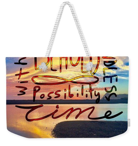 Infinite Possibility Weekender Tote Bag