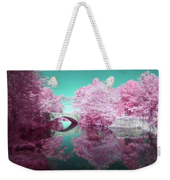 Infrared Bridge Weekender Tote Bag