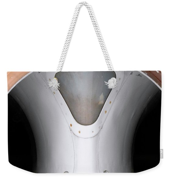 Weekender Tote Bag featuring the photograph Inlet I by Whitney Goodey