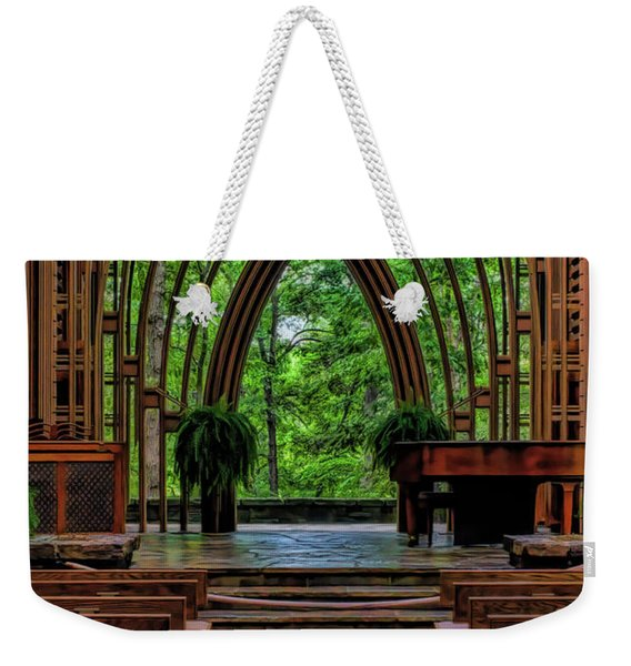 Inside The Chapel Weekender Tote Bag