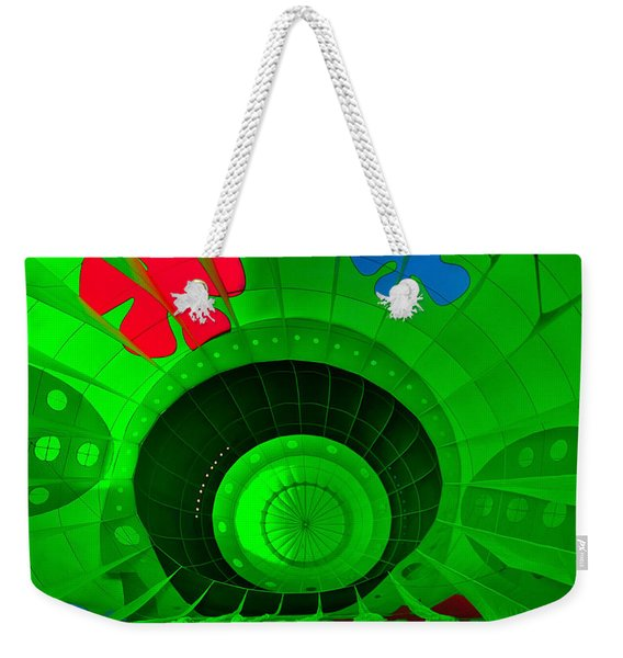 Inside The Green Balloon Weekender Tote Bag