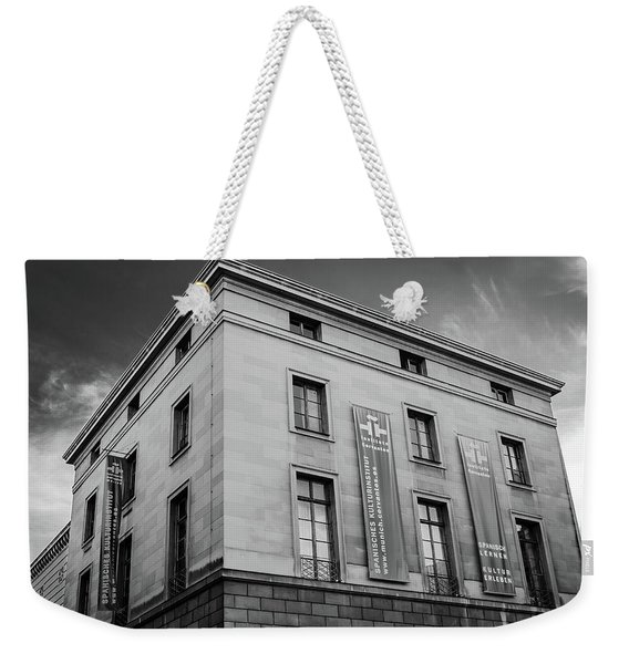 Instituto Cervantes, Munich Weekender Tote Bag