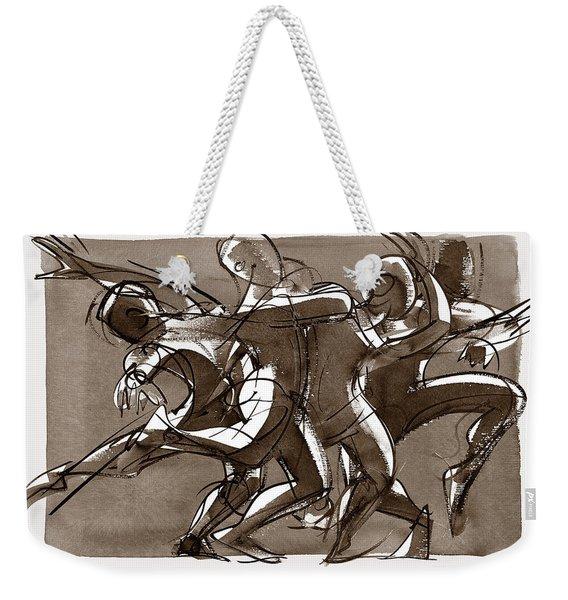 Interaction Weekender Tote Bag