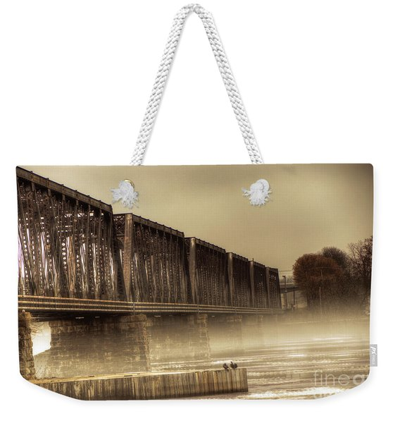 International Bridge Weekender Tote Bag