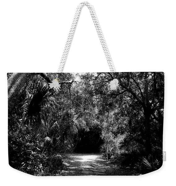 Into The Darkness Weekender Tote Bag