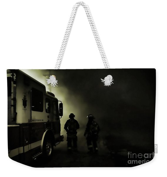Into The Fight Weekender Tote Bag