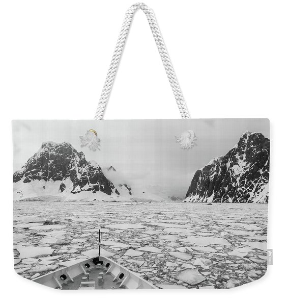 Into The Ice Weekender Tote Bag