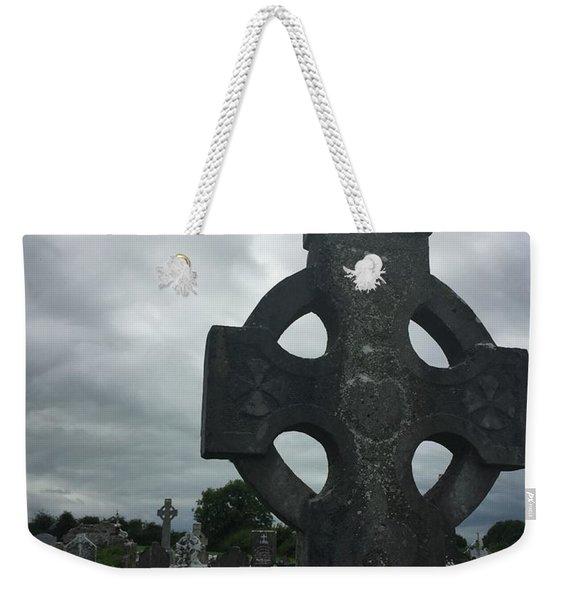 Ireland Gravestone Weekender Tote Bag
