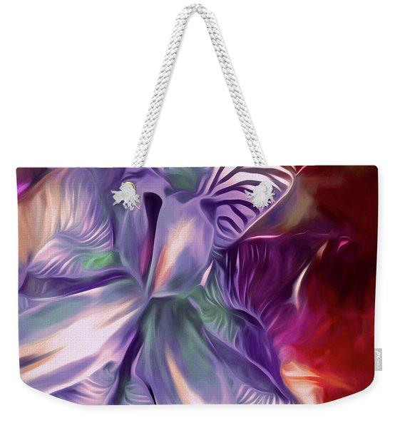 Iris Splendor 12 Weekender Tote Bag