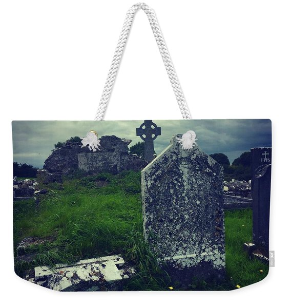 Irish Graveyard  Weekender Tote Bag