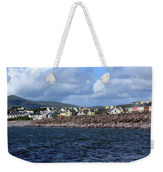 Irish Seaside Village, Co Kerry  Weekender Tote Bag