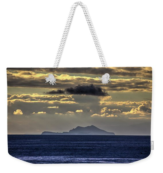 Island Cloud Weekender Tote Bag