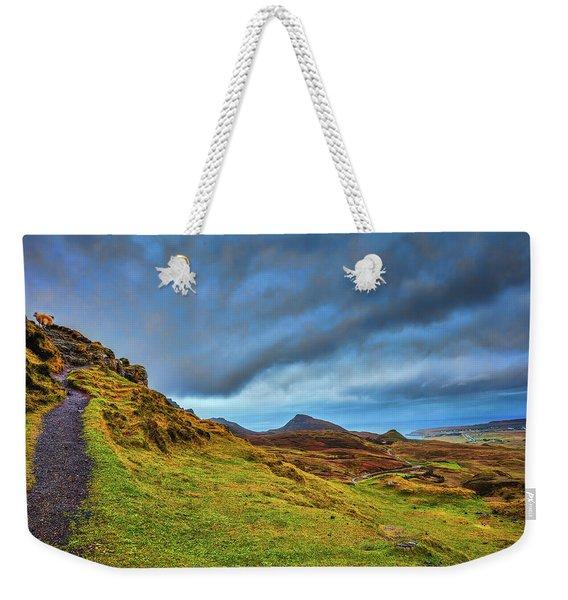 Isle Of Skye Landscape #i1 Weekender Tote Bag
