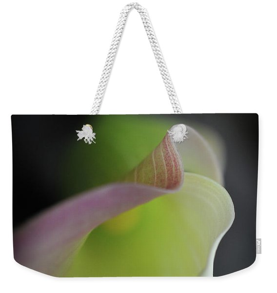 Weekender Tote Bag featuring the photograph Isn't She Lovely by Michelle Wermuth