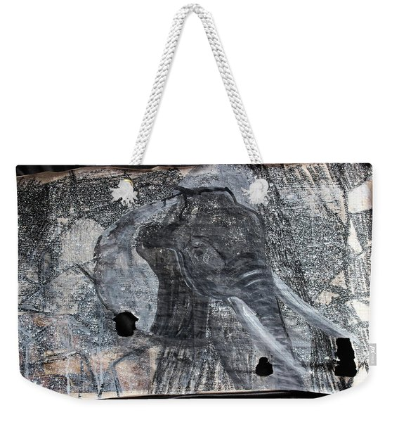 Isn't There Always An Elephant That No One Can See Weekender Tote Bag