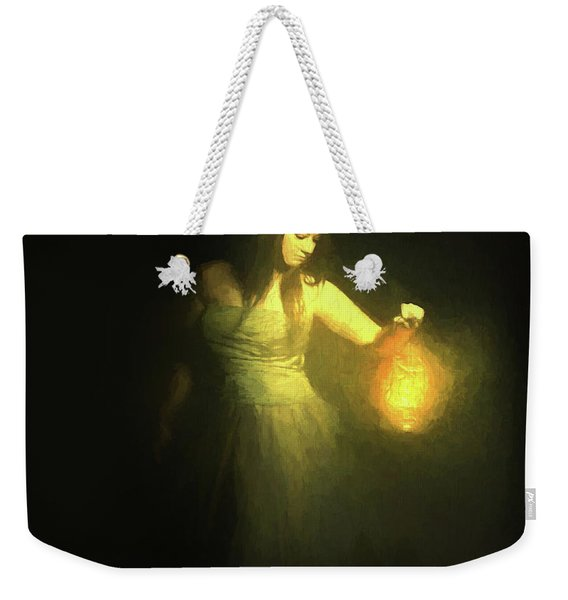 It Beckons Me Weekender Tote Bag