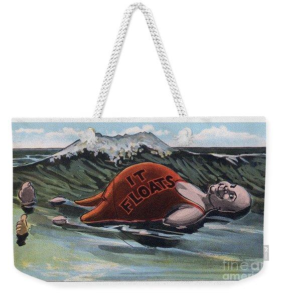 It Floats - Man Weekender Tote Bag