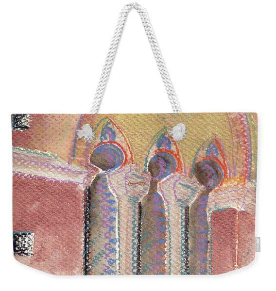 Italian Arch Weekender Tote Bag