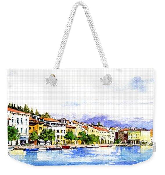 Italian Holiday Weekender Tote Bag