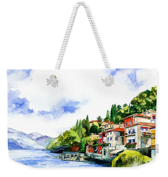 Italian Summer Vacation Weekender Tote Bag