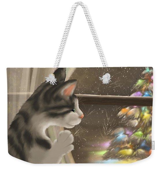 It's Christmas Time Weekender Tote Bag